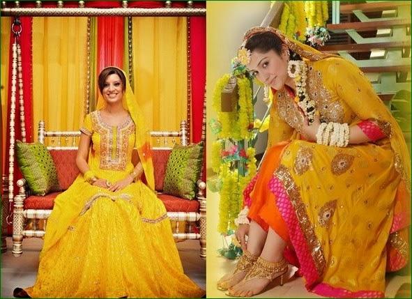Mehndi Dress With Hijab : Beauty and fashion mehndi dress