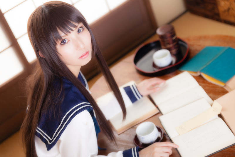 CosRain.Com Rinami's COSPLAY - Eru Chitanda