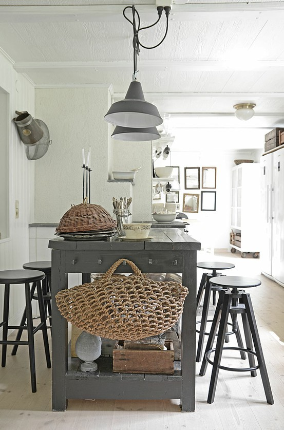 a place called joy: rustic + gray and white.