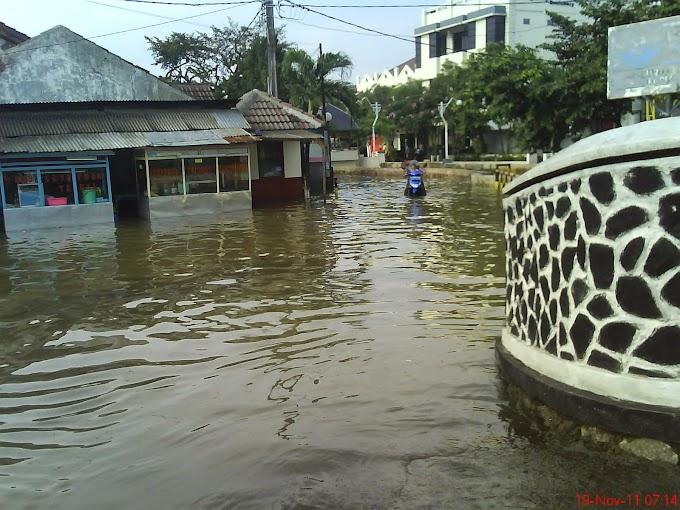 Atasi Banjir, Dibimasda Rehab Jembatan Taman Duta