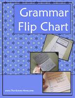 Grammar Flip Chart
