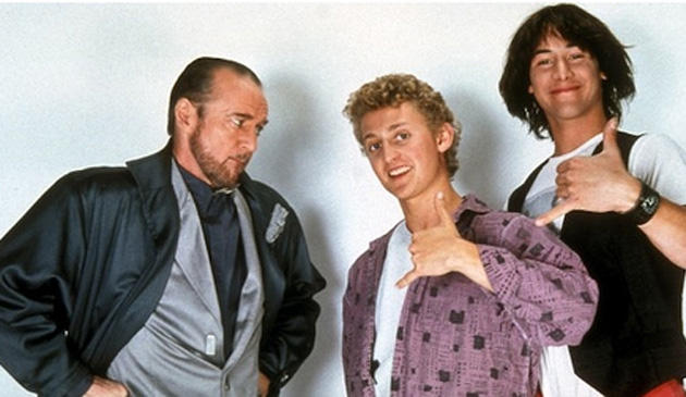 Bill, Ted, and Rufus