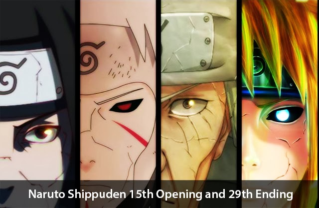 Naruto Shippuden 15th Opening and 29th Ending Songs Announced