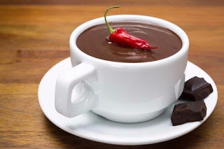 Mexican hot chocolate dessert