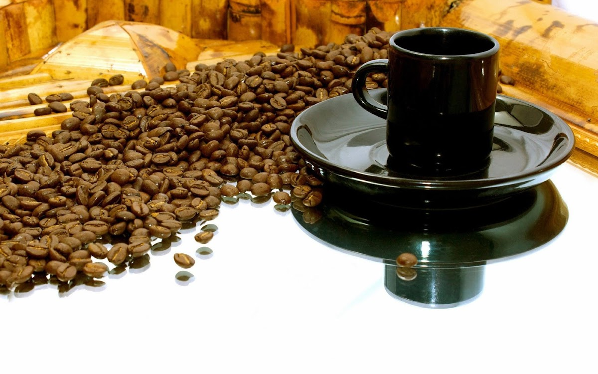 Coffee Beans Widescreen HD Wallpaper 5