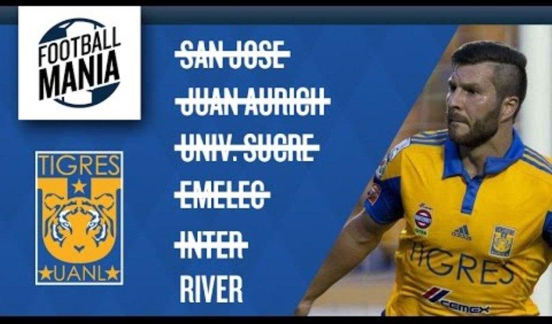 Copa Bridgestone Libertadores 2015, Tigres y su camino a la final.