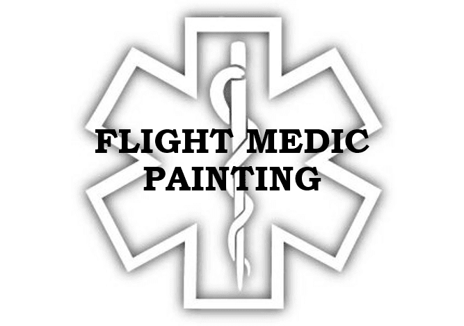 Fight Medic Painting and Photography