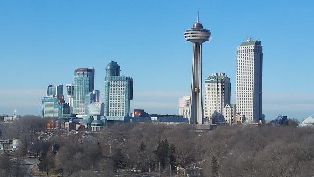 Travel - Skylon Tower, Niagara Falls, Canada