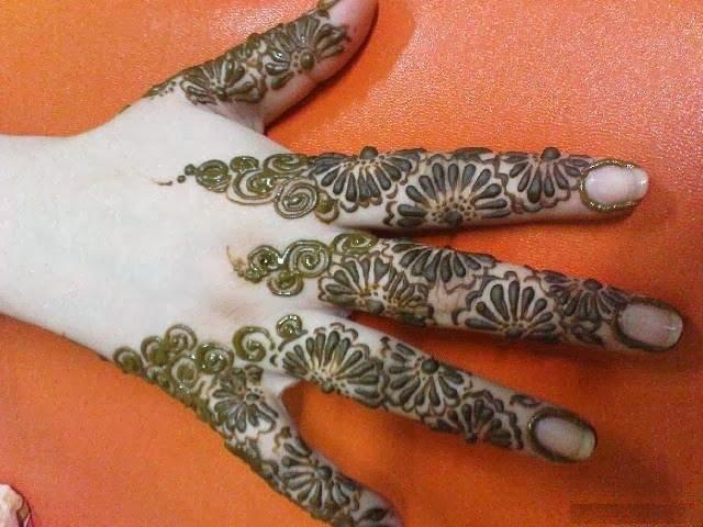 Finger Mehndi Designs Wallpapers Free Download