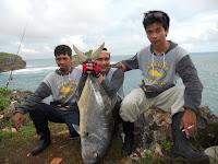 ROCK FISHING : Ater Fishing Jogja Bikin Sensasi