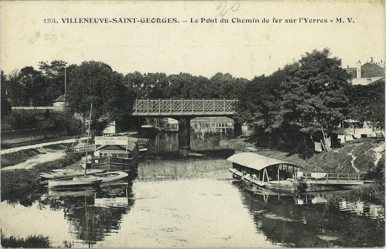 Les poissons des arbres autrefois le canotage 8 - Piscine villeneuve saint georges ...