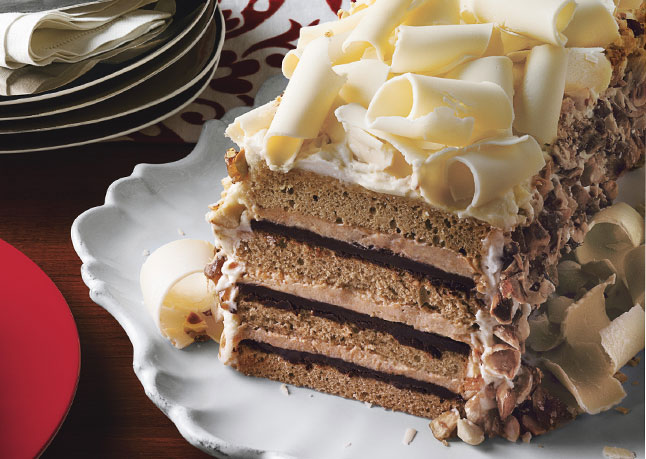 White Chocolate Tiramisu Trifle With Spiced Pears Recipes — Dishmaps