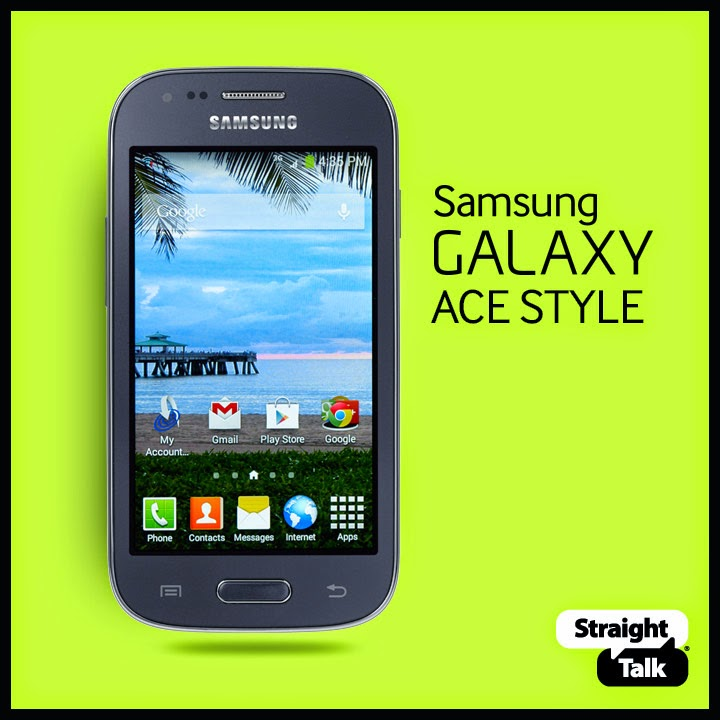 Straight Talk Promo Code for Samsung Galaxy Ace Style for $129.99