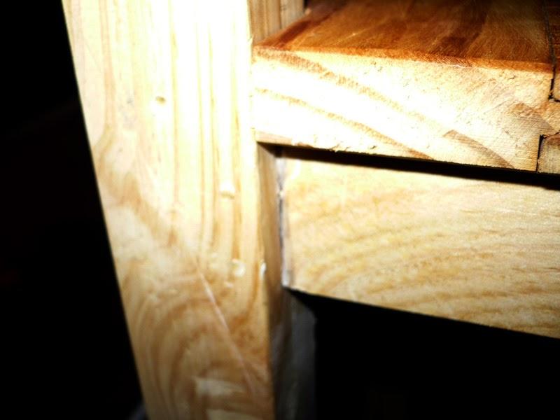 Como hacer una trona con madera de palets