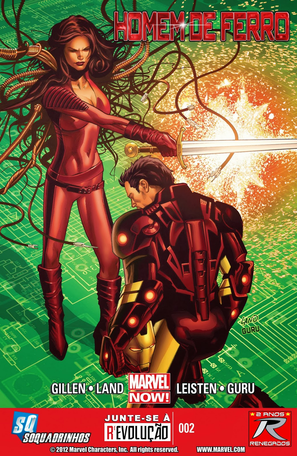 Nova Marvel! Homem de Ferro v6 #2