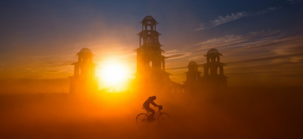 Sandstorm at Burning Man by Stuck in Customs