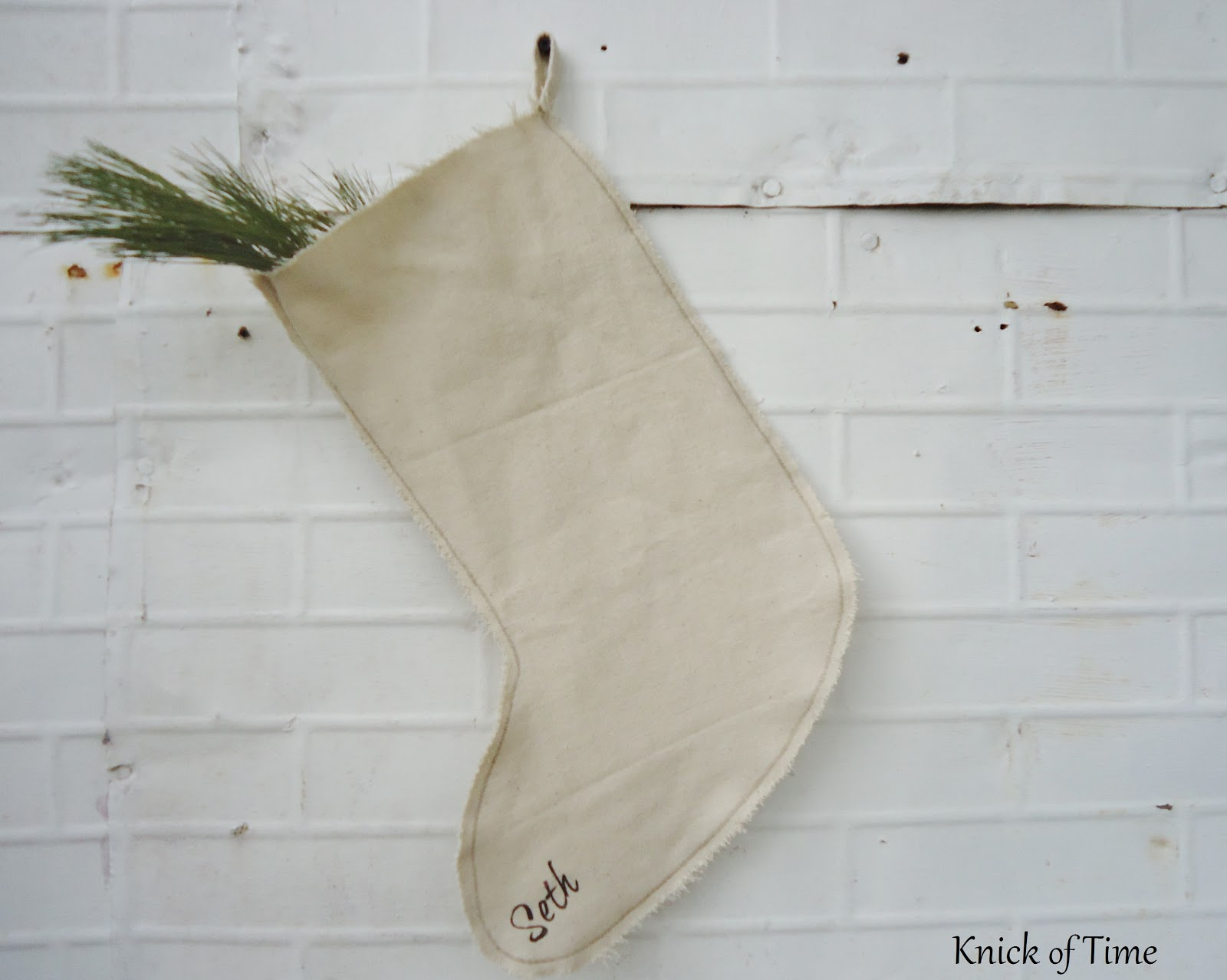 bright christmas prints ive had in the past - Primitive Christmas Stockings