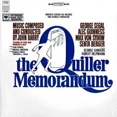 John Barry The Quiller Memorandum Original Sound Track Recording