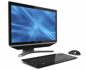 Toshiba Expands Line of All-in-One Desktops with New 23-Inch Model