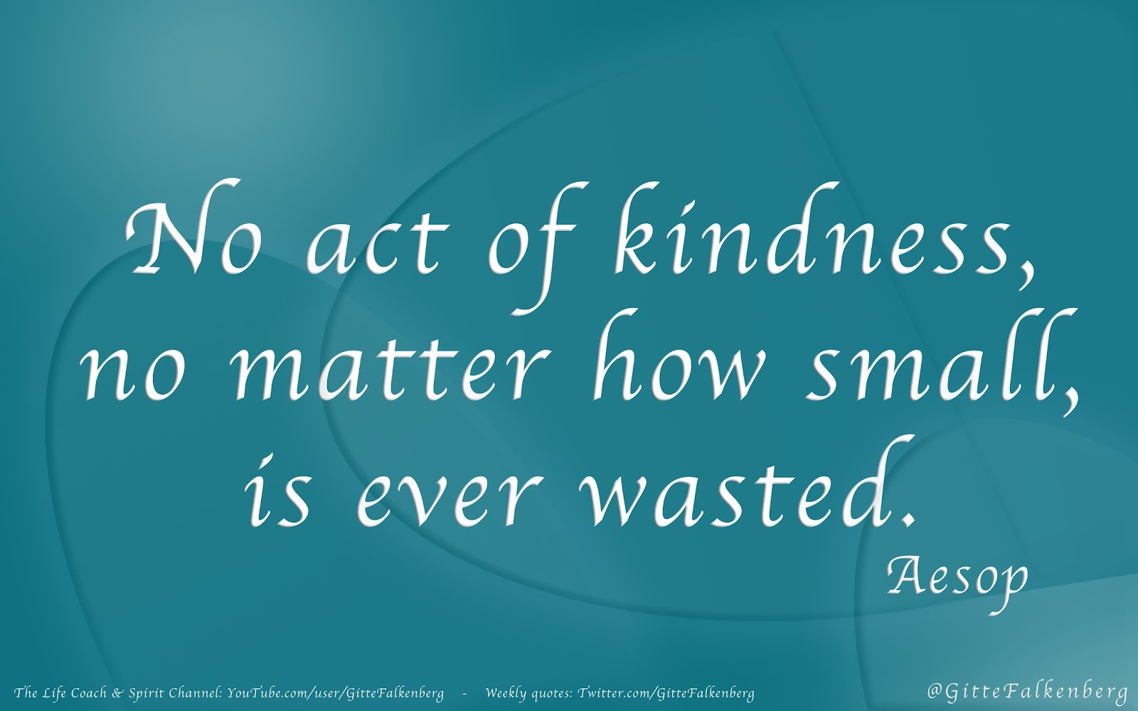 random act of kindness and smallest Indeed sometimes the smallest actions are the most powerful ones 15 acts of  kindness that cost $1 or less: leave $1 in a vending machine.