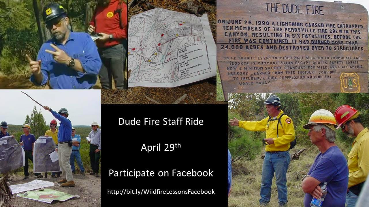 Dude Fire Staff Ride collage
