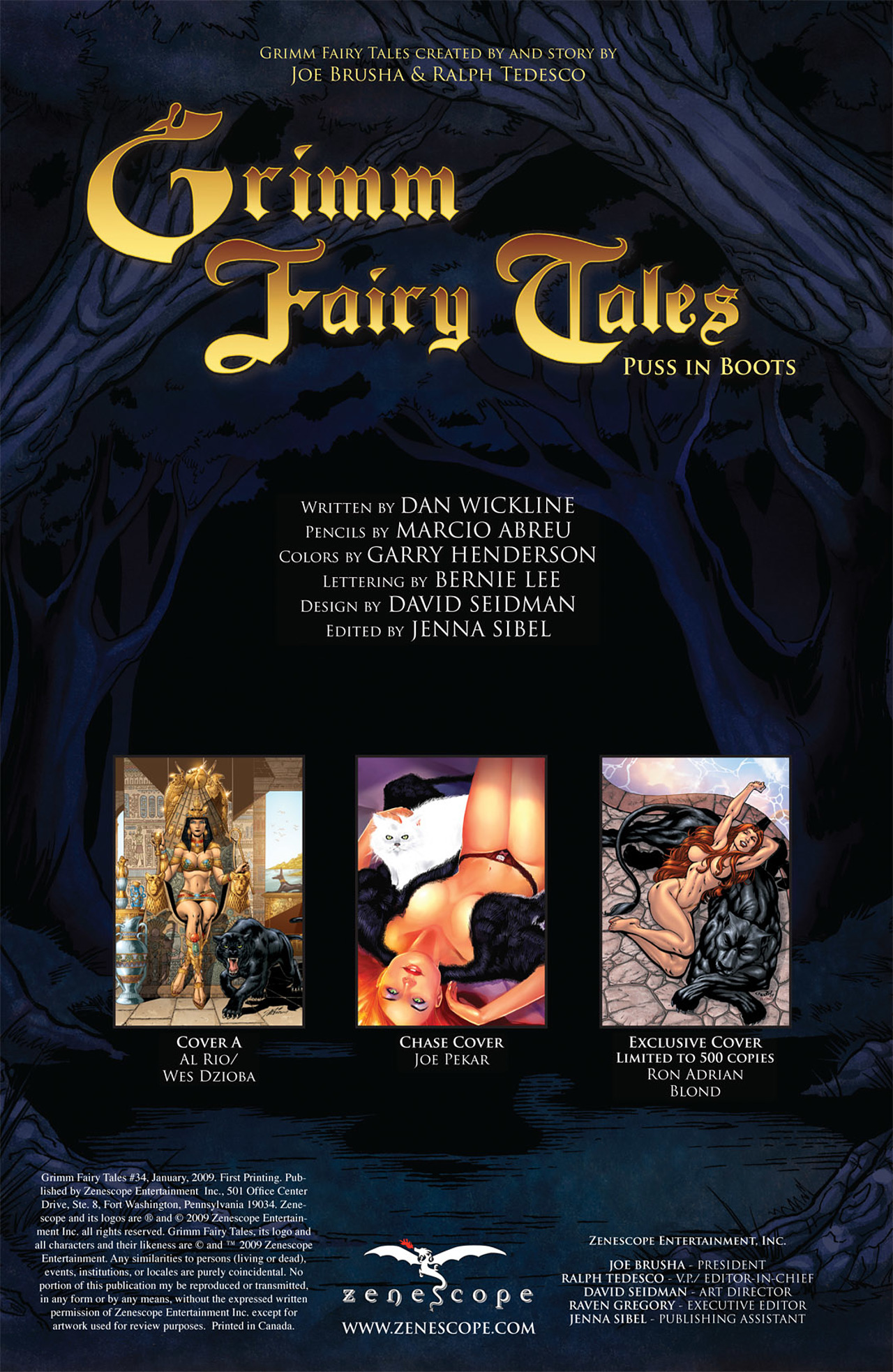 Grimm Fairy Tales (2005) Issue #34 #37 - English 2