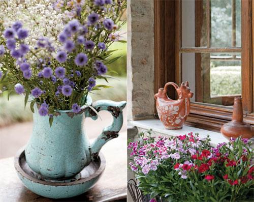 flores baratas jardim:MBR Decorações e Artesanato: 23 ideias charmosas para valorizar as