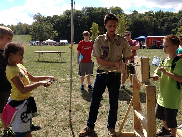 There are many activities and things to do at  the Hoosier Outdoor Experience in Indiana.