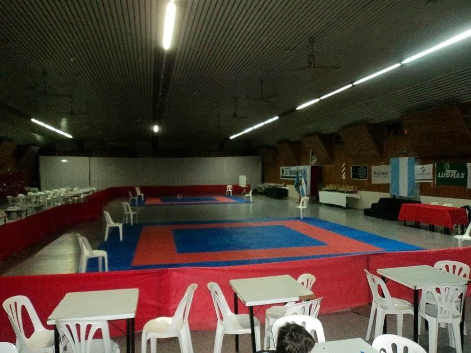 Presentacion del gimnasio del Club Deportivo Rivera