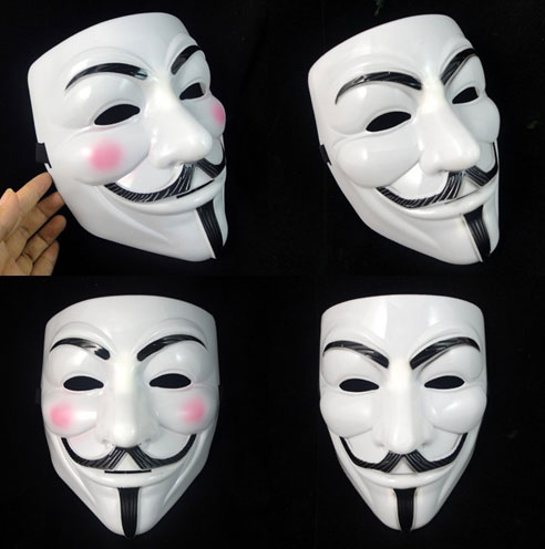 Halloween Guy Fawkes masks