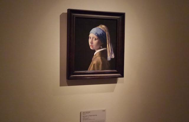 大塚国際美術館 真珠の耳飾りの少女 フェルメール