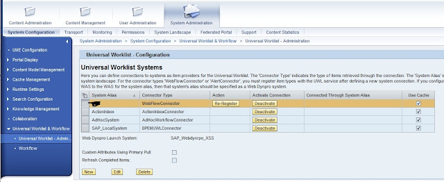 UWL Configuration SAP EP 7.3  onlysapep.blogspot.in only sap ep  blogspot