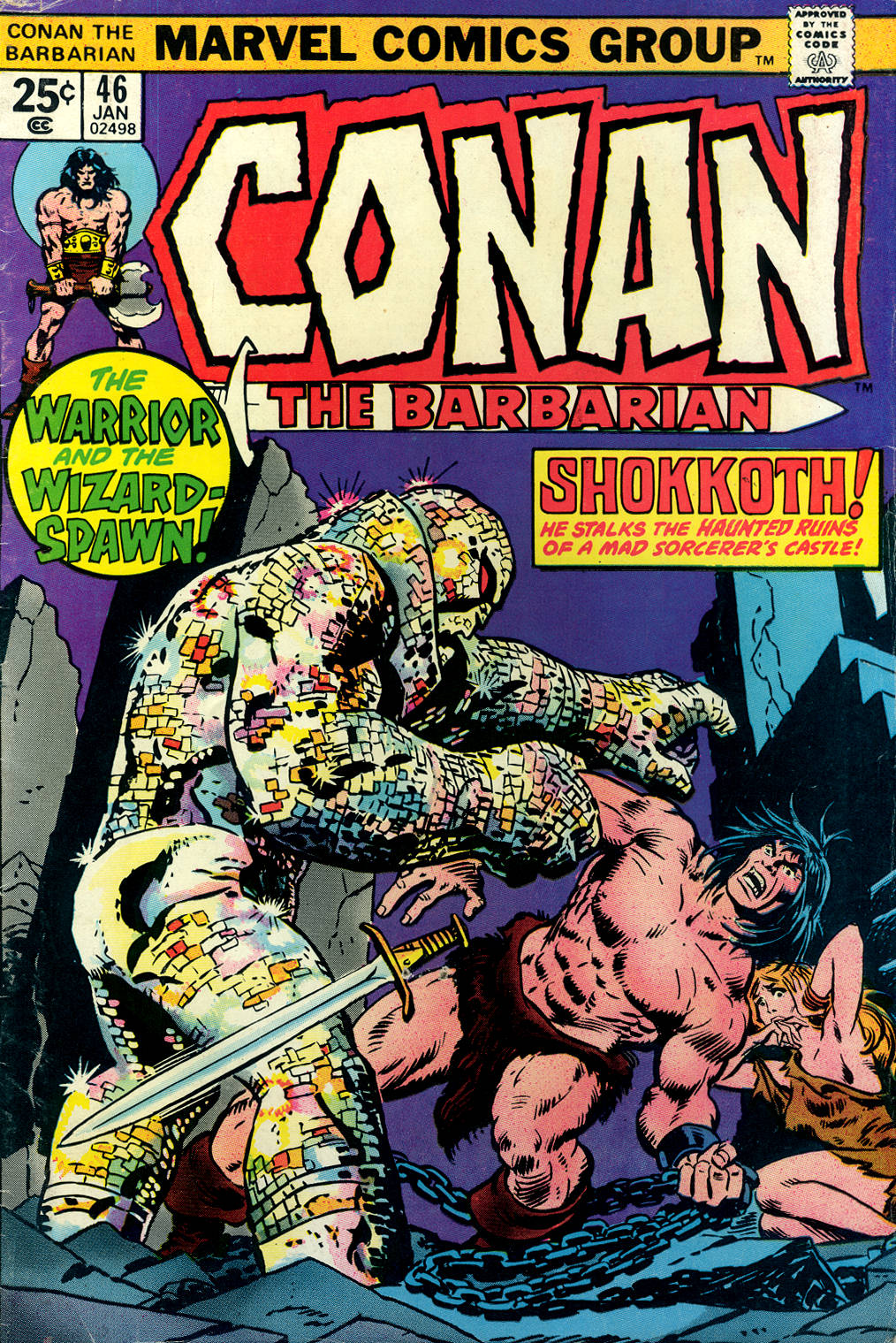 Conan the Barbarian (1970) 46 Page 1