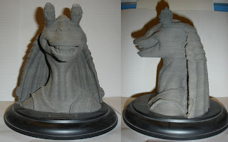 Jar Jar Binks, 3d sculpture