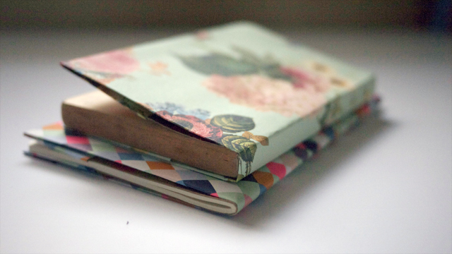 Japanese Paper Book Cover ~ Kitty and buck diy japanese paper book cover