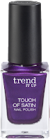 Preview: Die neue dm-Marke trend IT UP - Touch of Satin Nail Polish 040 - www.annitschkasblog.de