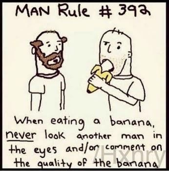 man rule banana