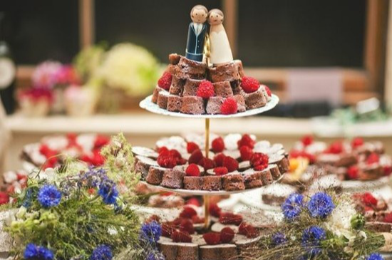 Wedding cake alternative ideas