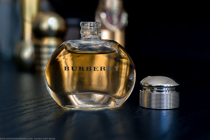 weekend ramblings burberry for women classic eau de parfum. Black Bedroom Furniture Sets. Home Design Ideas