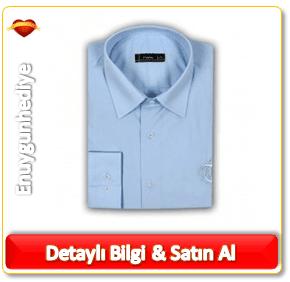 Kişiye Özel Mavi Damat Tween Gömlek