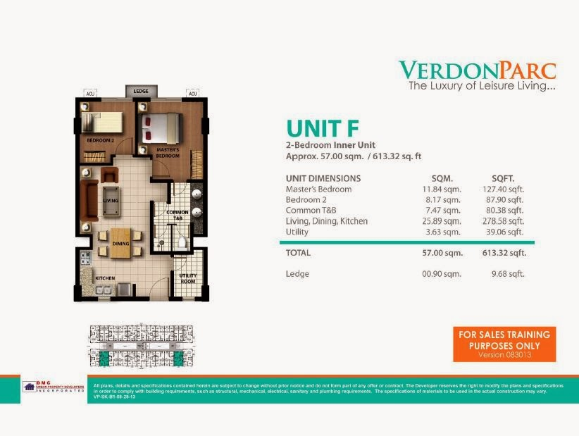 Verdon Parc Davao Unit F