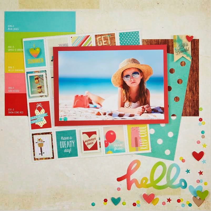 All Scrapbook Steals The Blog Simple Stories Good Day Sunshine