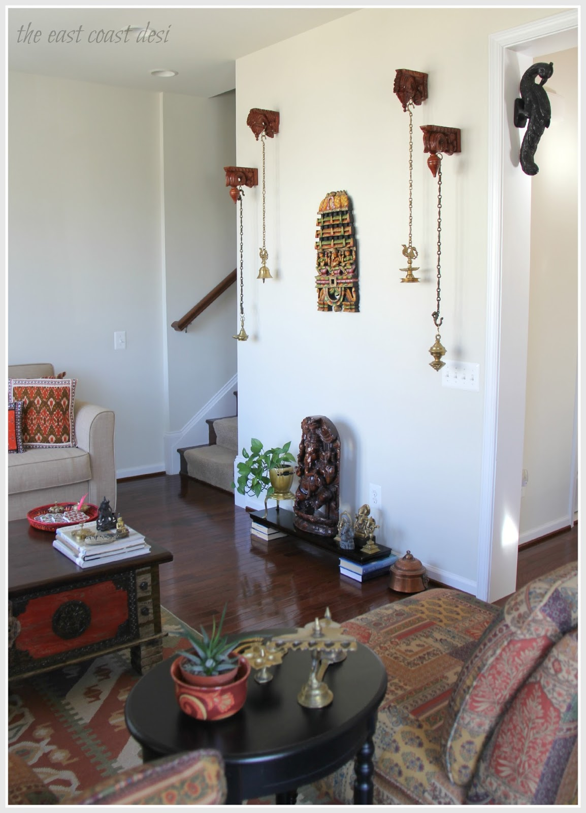 The east coast desi happy second birthday tecd for South indian home decor ideas