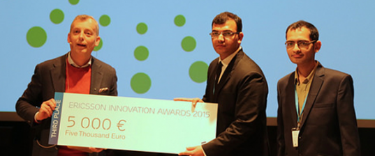 132Connect finishes 3rd at Ericsson Innovation Awards 2015