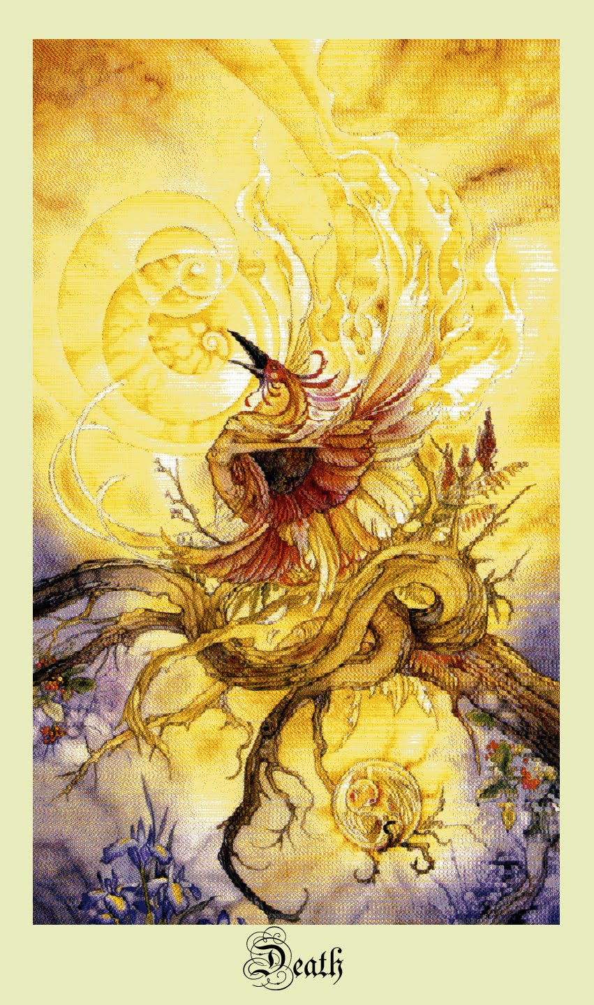A MORTE E O AMOR... Tarô Shadowscapes Companion