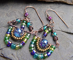 Exotic Mediterranean Earrings