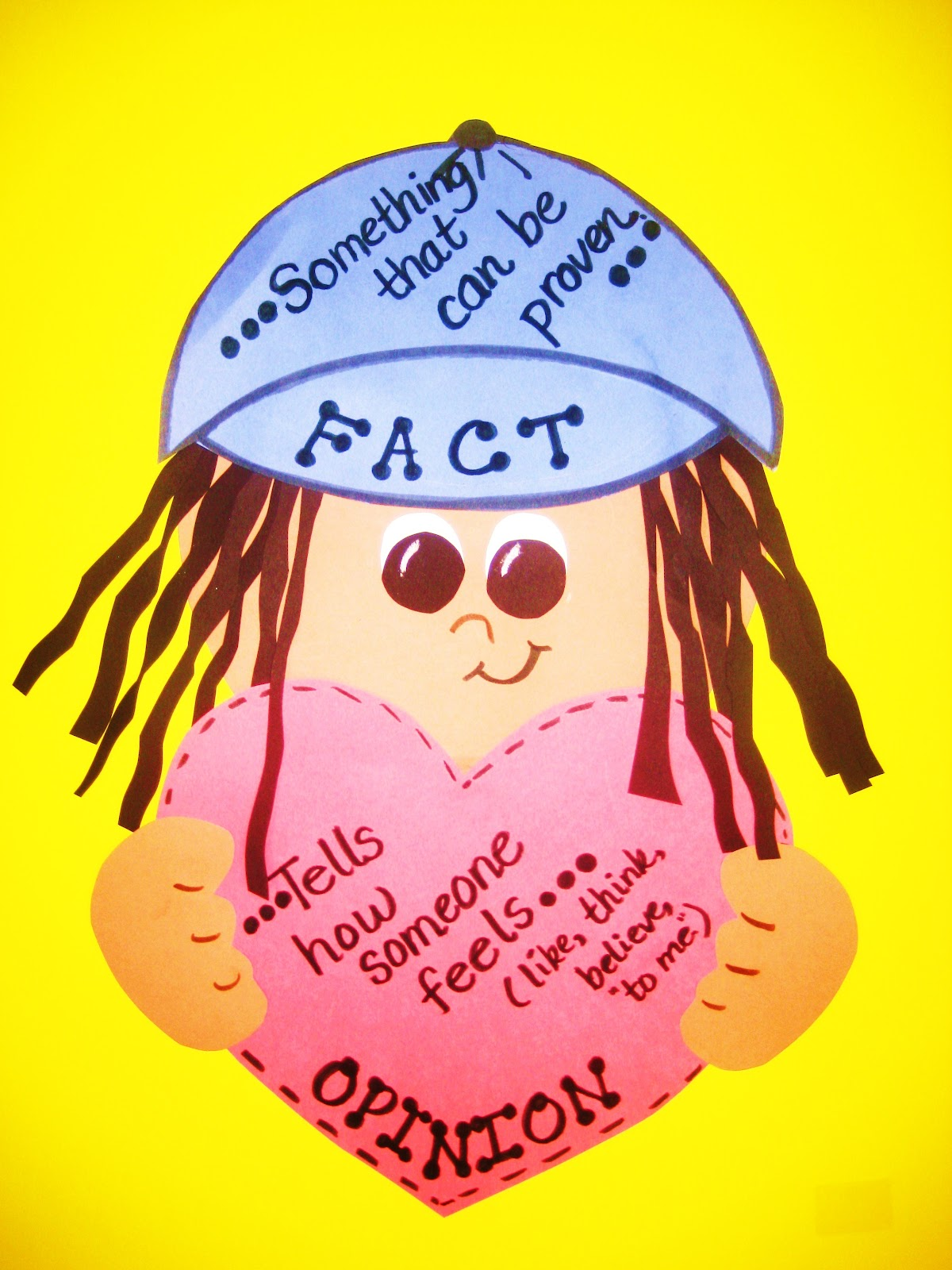 Fact opinion first grade