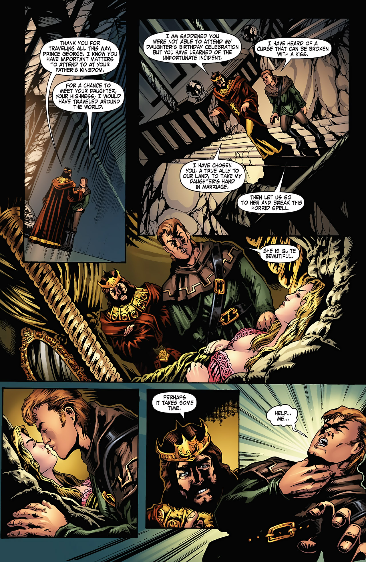 Grimm Fairy Tales (2005) Issue #5 #8 - English 12