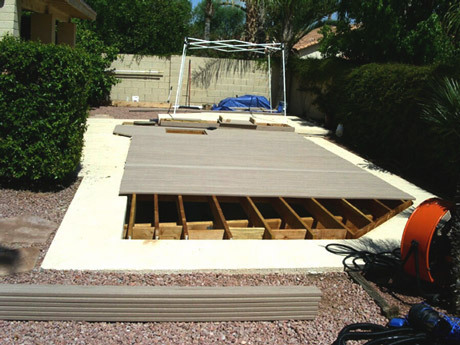 Fill in pool australia convert your pool into decking for Swimming pool conversion