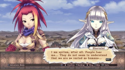 Agarest Generations of War Zero Gameplay